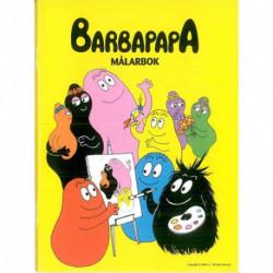 Barbapapa målarbok