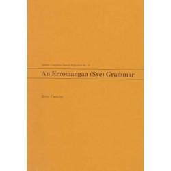 An Erromangan (Sye) Grammar