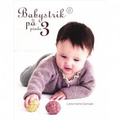 Babystrik på pinde 3: hæfte 01