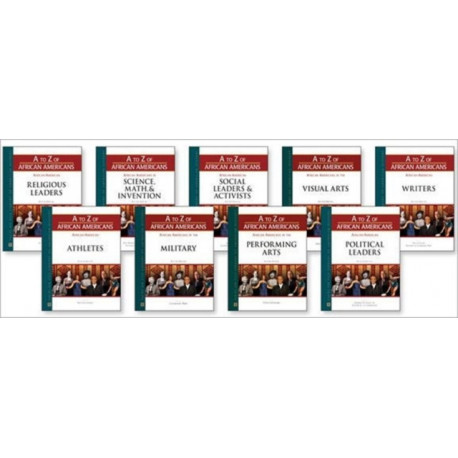 A to Z of African Americans Set, 9-Volumes