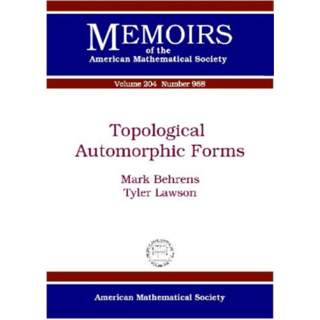 Topological Automorphic Forms