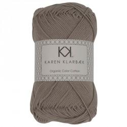 8/4 Lys gråbrun - KK Color Cotton økologisk bomuldsgarn fra Karen Klarbæk