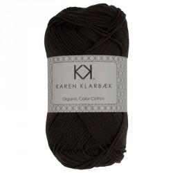 8/4 Mørk gråbrun - KK Color Cotton økologisk bomuldsgarn fra Karen Klarbæk