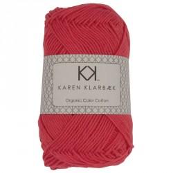 8/4 Mørk fersken - KK Color Cotton økologisk bomuldsgarn fra Karen Klarbæk