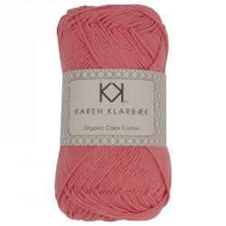 8/4 Fersken - KK Color Cotton økologisk bomuldsgarn fra Karen Klarbæk