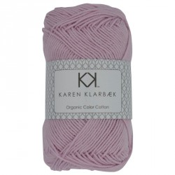 8/4 Lys lilla - KK Color Cotton økologisk bomuldsgarn fra Karen Klarbæk