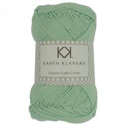 8/4 Mint grøn - KK Color Cotton økologisk bomuldsgarn fra Karen Klarbæk