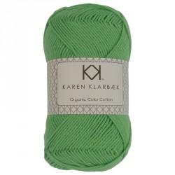 Forstør 8/4 Limegrøn - KK Color Cotton økologisk bomuldsgarn fra Karen Klarbæk