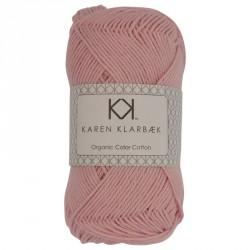 8/4 Lys rosa - KK Color Cotton økologisk bomuldsgarn fra Karen Klarbæk