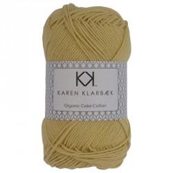 8/4 Pastelgul - KK Color Cotton økologisk bomuldsgarn fra Karen Klarbæk