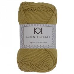 8/4 Falmet gul - KK Color Cotton økologisk bomuldsgarn fra Karen Klarbæk