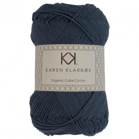 8/4 Babyblå - KK Color Cotton økologisk bomuldsgarn fra Karen Klarbæk