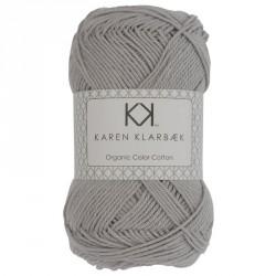 8/4 Lys kold grå - KK Color Cotton økologisk bomuldsgarn fra Karen Klarbæk