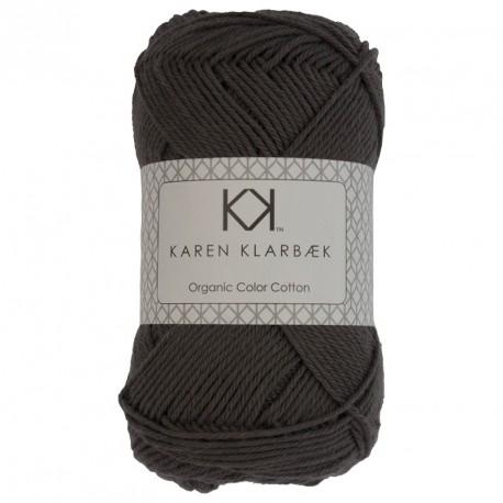 8/4 Kold grå - KK Color Cotton økologisk bomuldsgarn fra Karen Klarbæk