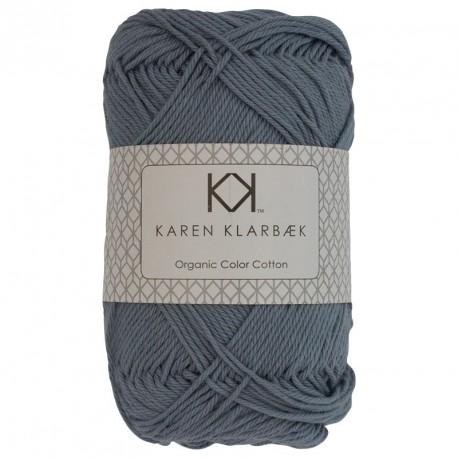 8/4 Koksgrå - KK Color Cotton økologisk bomuldsgarn fra Karen Klarbæk