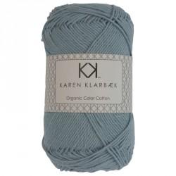 8/4 Falmet jeansblå - KK Color Cotton økologisk bomuldsgarn fra Karen Klarbæk