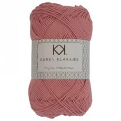 8/4 Gammelrosa - KK Color Cotton økologisk bomuldsgarn fra Karen Klarbæk