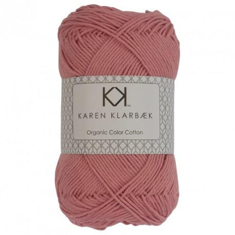 8/4 Bleg pink - KK Color Cotton økologisk bomuldsgarn fra Karen Klarbæk