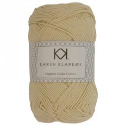 8/4 Lys gul - KK Color Cotton økologisk bomuldsgarn fra Karen Klarbæk