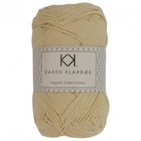 8/4 Lys nøddebrun - KK Color Cotton økologisk bomuldsgarn fra Karen Klarbæk