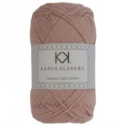 8/4 Mørk gammelrosa - KK Color Cotton økologisk bomuldsgarn fra Karen Klarbæk