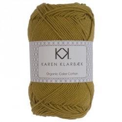 8/4 Sennepsgul - KK Color Cotton økologisk bomuldsgarn fra Karen Klarbæk