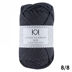 8/8 Natskygge - KK Color Cotton økologisk bomuldsgarn fra Karen Klarbæk
