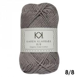 8/8 Olivengrøn - KK Color Cotton økologisk bomuldsgarn fra Karen Klarbæk
