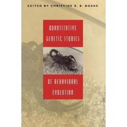 Quantitative Genetic Studies of Behavioral Evolution
