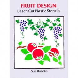 Fruit Designs Laser-Cut Plastic Stencils