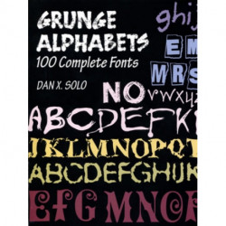 Grunger Alphabets: 100 Complete Fonts