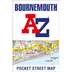 Bournemouth Pocket Street Map