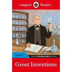 Ladybird Readers Level 6 - Great Inventions (ELT Graded Reader)