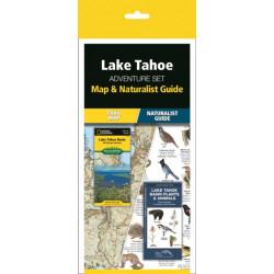 Lake Tahoe Adventure Set: Map & Naturalist Guide
