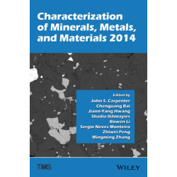 Characterization of Minerals, Metals, and Materials 2014