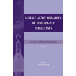 Surface Active Behaviour of Performance Surfactants