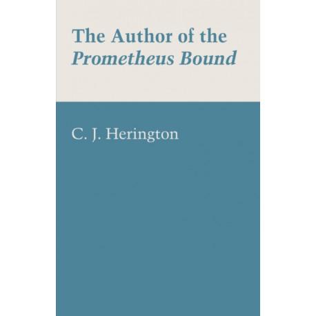 The Author of the Prometheus Bound