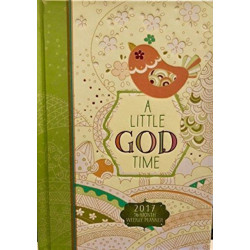 A 2017 16-Month Weekly Planner: Little God Time