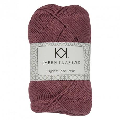 8/4 Mørk marineblå - KK Color Cotton økologisk bomuldsgarn fra Karen Klarbæk