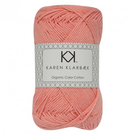 8/4 Blomme - KK Color Cotton økologisk bomuldsgarn fra Karen Klarbæk