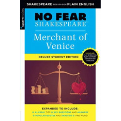 Merchant of Venice: No Fear Shakespeare Deluxe Student Edition