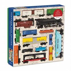 Vintage Toy Trains 300pc Puzzle