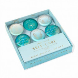 Self-Care: Glass Magnet Set (Set of 6)