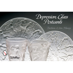 Depression Glass Postcards