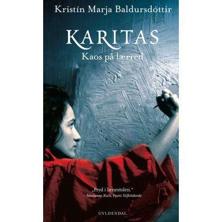 Karitas - kaos på lærred  Hardback