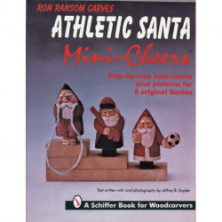 Ron Ransom Carves Athletic Santa Mini-Cheers