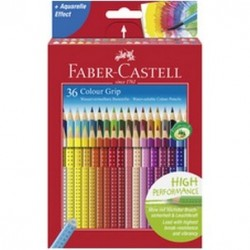 FARVEBLYANT GRIP FABER CASTELL 36 STK