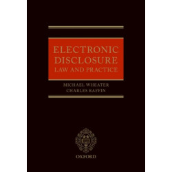 Electronic Disclosure: Law and Practice
