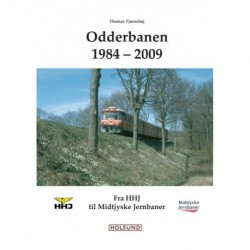 Odderbanen 1984-2009: fra HHJ til Midtjyske Jernbaner