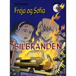 Freja og Sofia - bilbranden